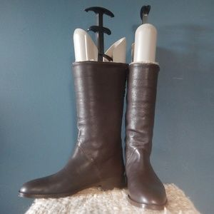Talbots Shoes - Talbot's Alison Boot in Brown Leather